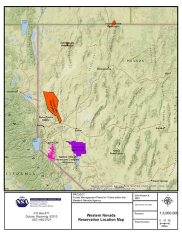The Summit Reno >> Nevada, USA - Forest Management Plans for Native American Reservations in Western Nevada BIA ...